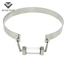 Unique Chic Choker Necklace For Women 2016 Fashion Acryl Wide Alloy Torques Bib Collares Statement Necklaces Maxi Jewelry CE3894