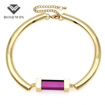 Unique Choker Necklace For Women 2016 New Fashion Bar Gems Alloy Torques Bib Collar Statement Necklaces Maxi Jewelry CE3956